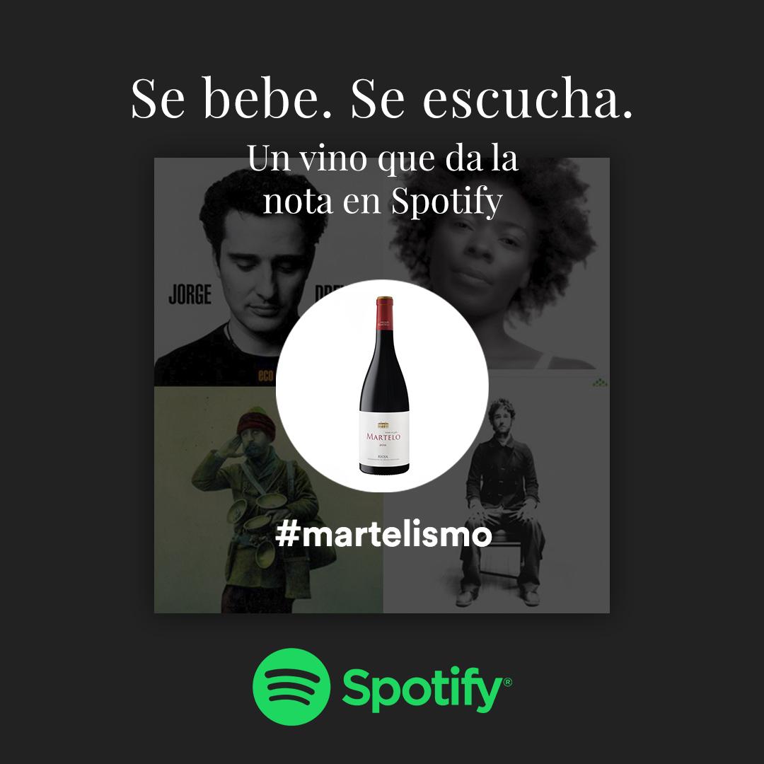 Martelo se hace de Spotify