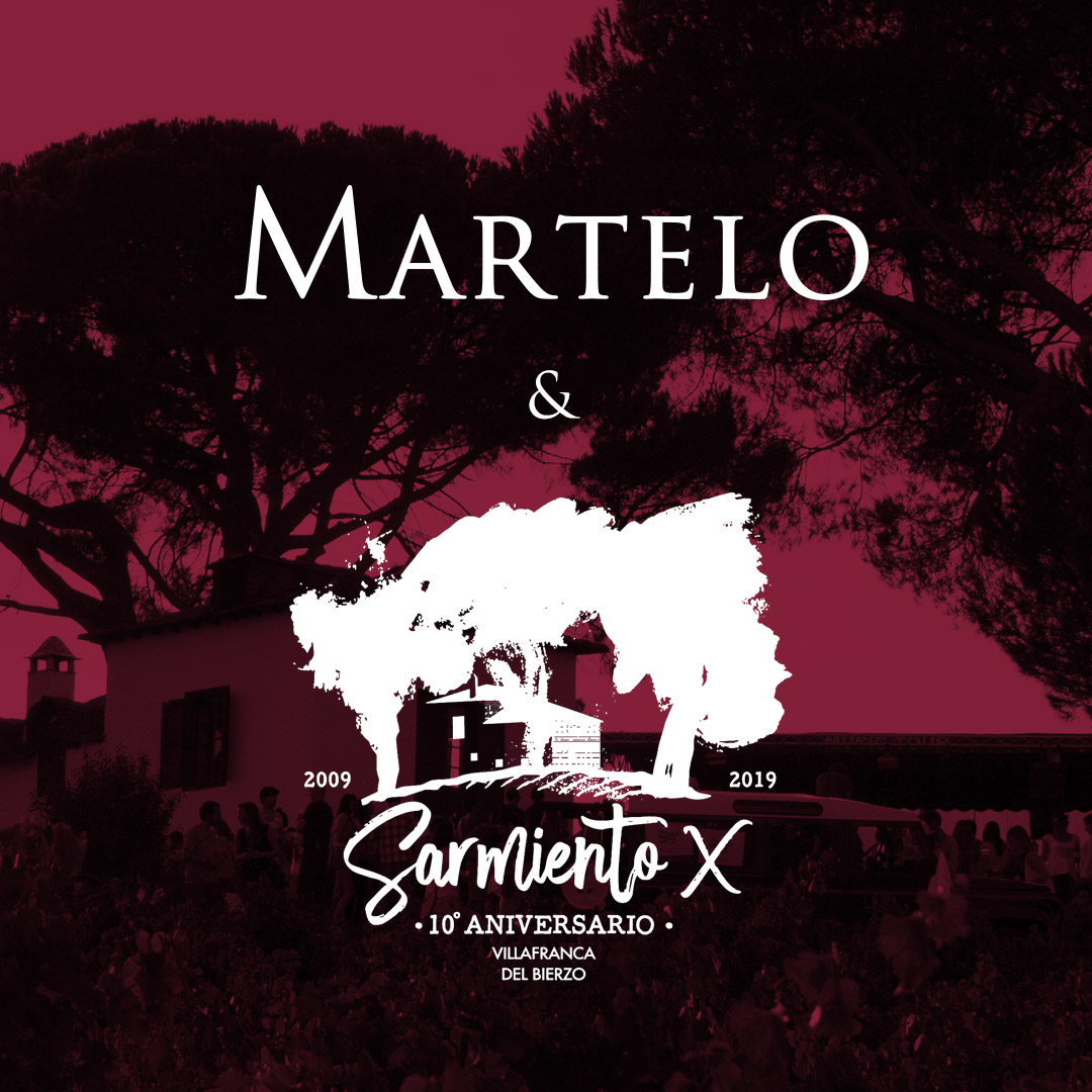 Martelo welcomes you to Evento Sarmiento
