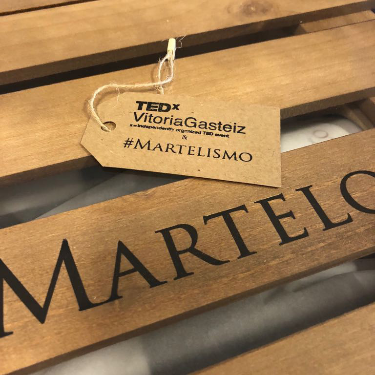 TEDxVitoriaGasteiz 2019: Games, inspiration and plenty of #Martelism