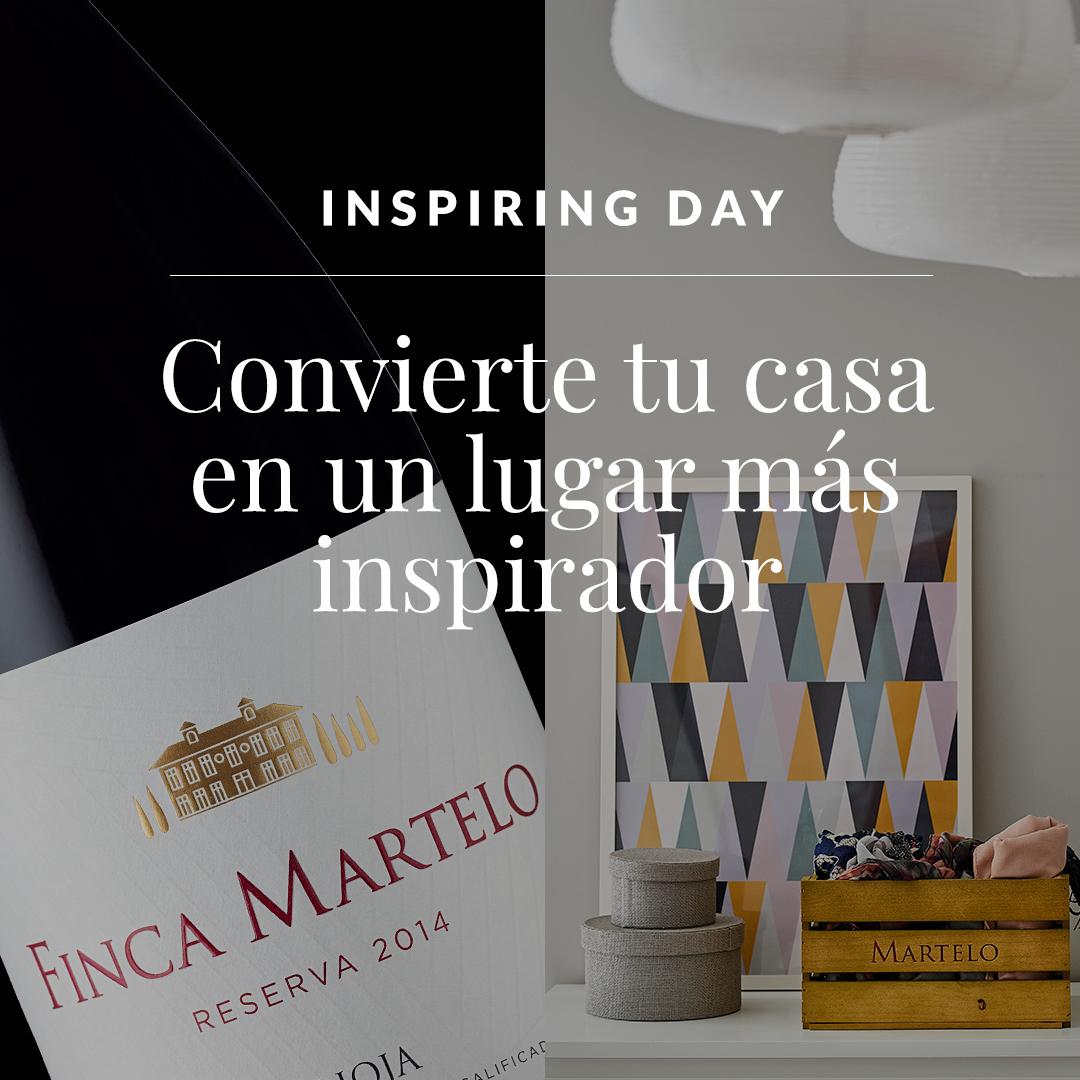 Inspiring Day:Convierte tu casa en un lugar más inspirador