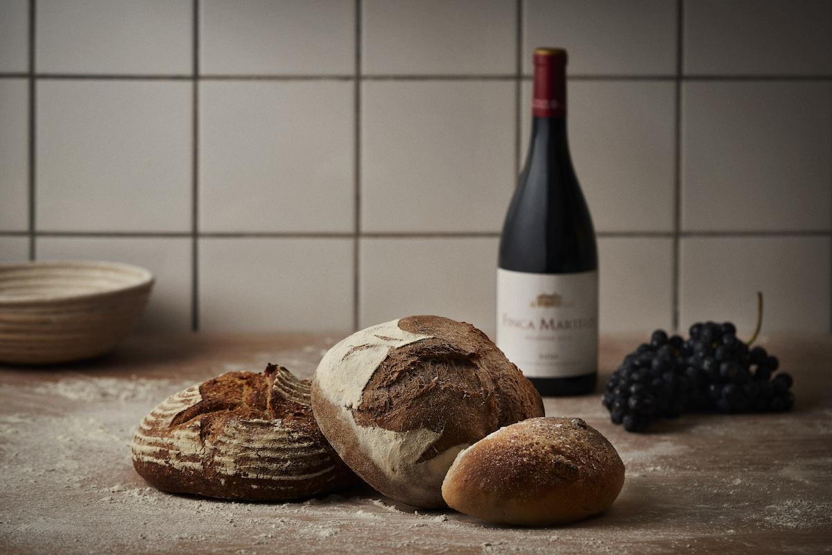Finca Martelo presenta sus propios panes
