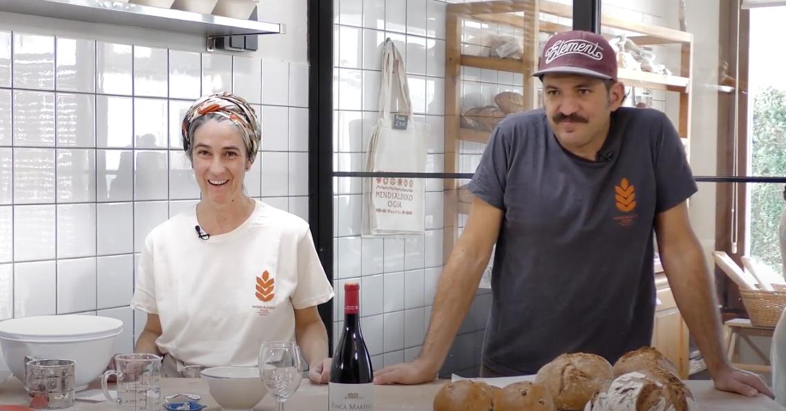 Así fue el taller de panes Finca Martelo